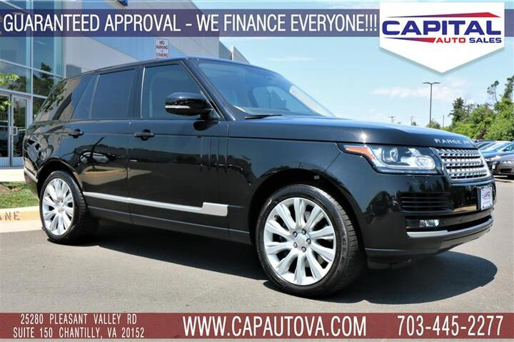 Land Rover Chantilly >> 2014 Land Rover Range Rover Supercharged