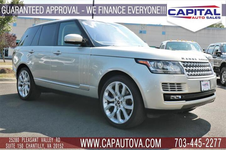 2014 LAND ROVER RANGE ROVER SUPERCHARGED Chantilly VA
