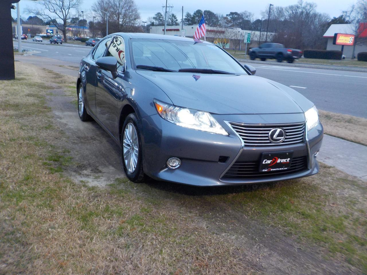 2014 LEXUS ES 350 ONE OWNER, LEATHER HEATED & COOLED SEATS, NAVIGATION, SUNROOF, BACKUP CAMERA, ONLY 87K MILES! Virginia Beach VA