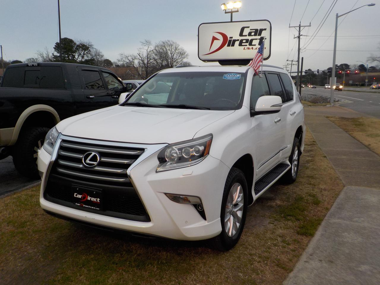 2014 LEXUS GX 460 4X4, ONE OWNER, HEATED LEATHER SEATS, NAVIGATION, BACK UP CAM, SUNROOF, BLUETOOTH, ONLY 60K MILES! Virginia Beach VA