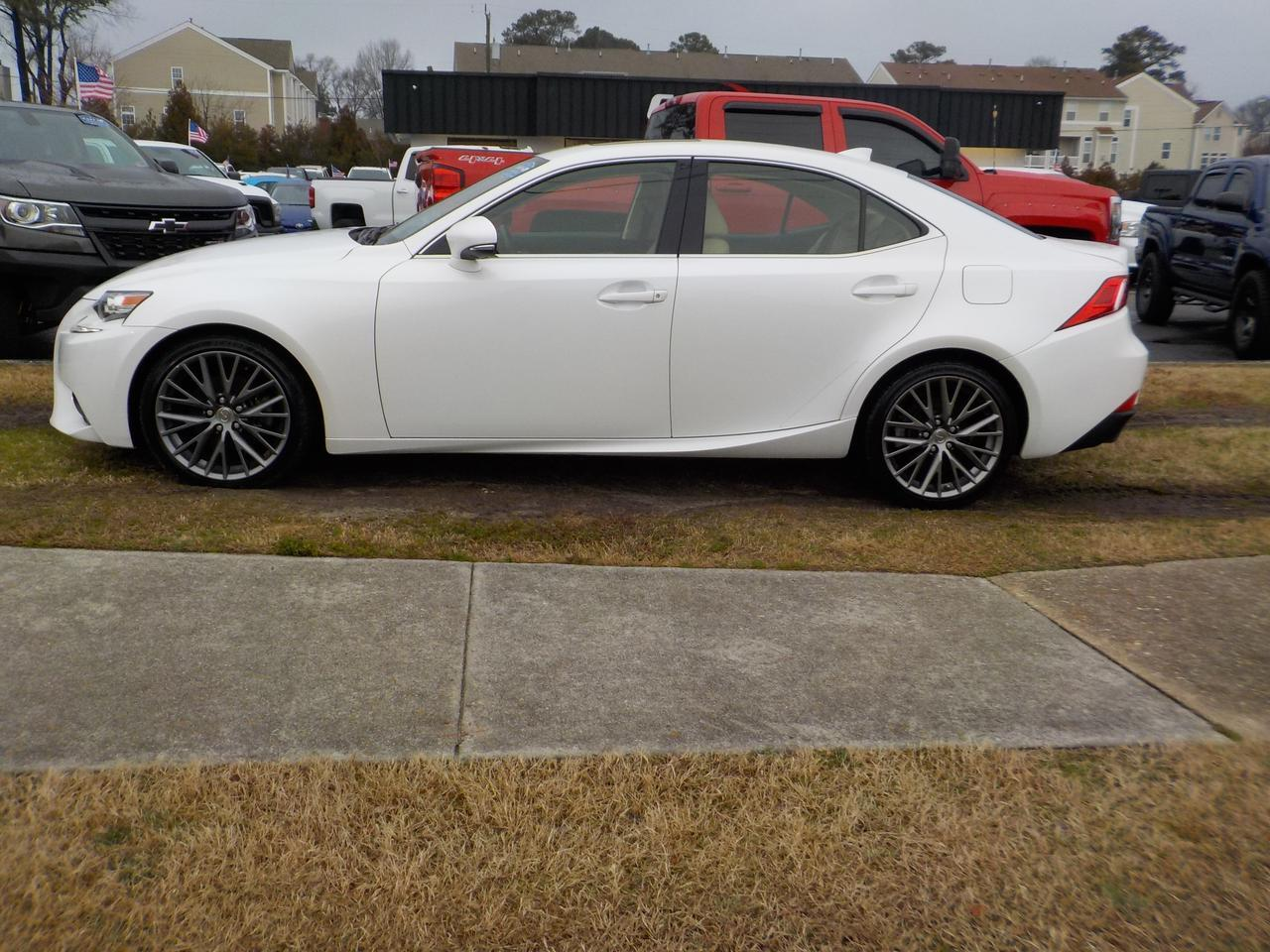 2014 LEXUS IS 250 SPORT AWD, LEATHER HEATED AND COOLED SEATS, NAVIGATION, BACKUP CAMERA, BLUETOOTH, ONLY 54K MILES! Virginia Beach VA