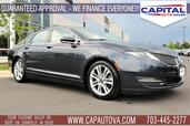 2014 LINCOLN MKZ Navigation w/Panoramic Roof