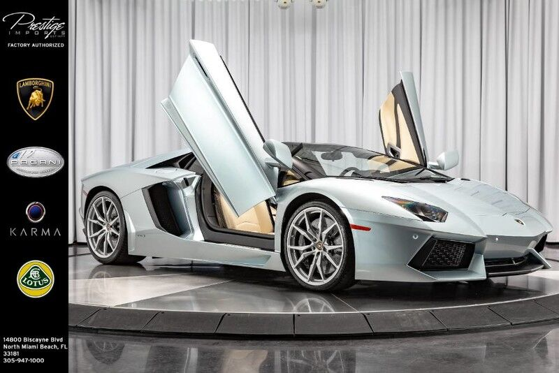 2014_Lamborghini_Aventador__ North Miami Beach FL