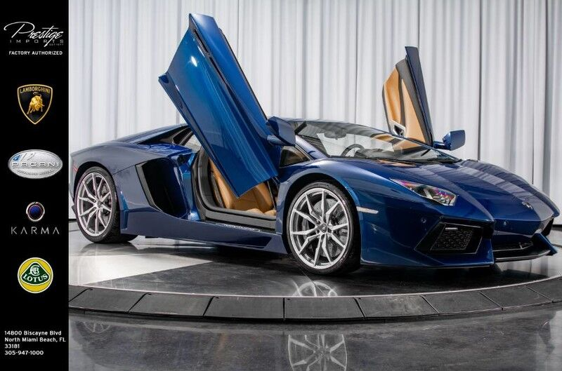 2014_Lamborghini_Aventador_Coupe_ North Miami Beach FL