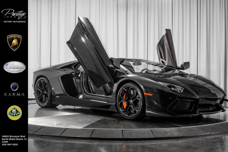 2014_Lamborghini_Aventador Roadster__ North Miami Beach FL
