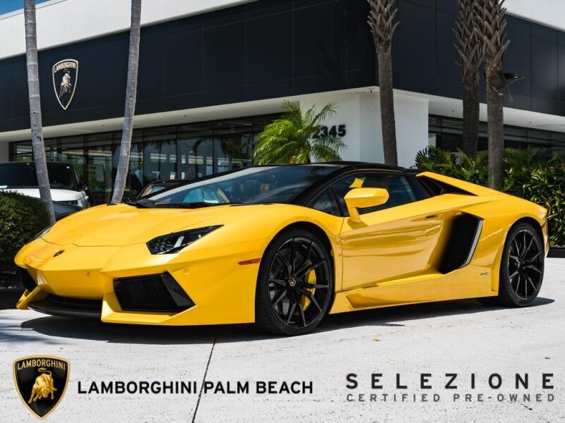 2014 Lamborghini Aventador Roadster West Palm Beach FL
