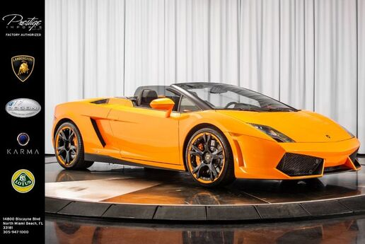 2014 Lamborghini Gallardo  North Miami Beach FL