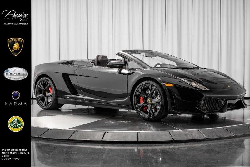 2014_Lamborghini_Gallardo__ North Miami FL