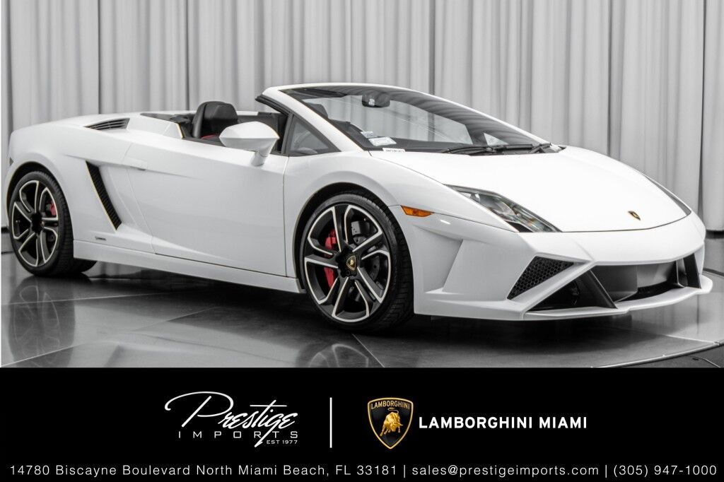 2014_Lamborghini_Gallardo__ North Miami Beach FL