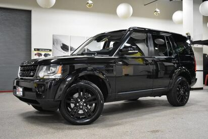 2014_Land Rover_LR4_LUX BLACK DESIGN PACKAGE_ Boston MA
