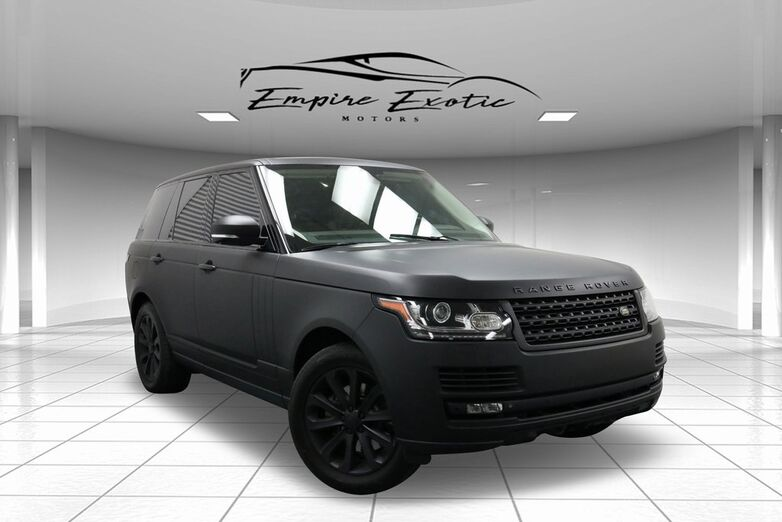 2014 Land Rover Range Rover 3.0L V6 Supercharged HSE Addison TX