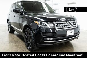 2014 Land Rover Range Rover 3.0L V6 Supercharged HSE Front Rear Heated Seats Panoramic Moonroof