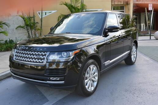 2014 Land Rover Range Rover 3.0L V6 Supercharged HSE Miami FL