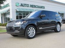 2014_Land Rover_Range Rover_3.0L V6 Supercharged HSE NAV, BACKUP CAM, BLIND SPOT, HTD/COOLED STS, PANORAMIC, BLUETOOTH_ Plano TX