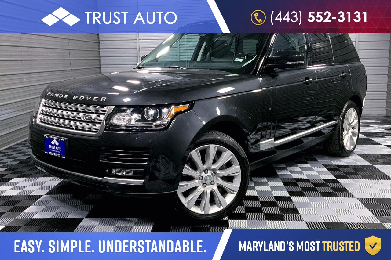 2014 Land Rover Range Rover 5.0L V8 Supercharged 4WD Luxury SUV Sykesville MD
