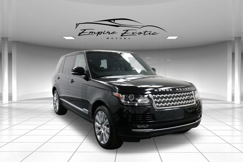 2014 Land Rover Range Rover 5.0L V8 Supercharged Addison TX