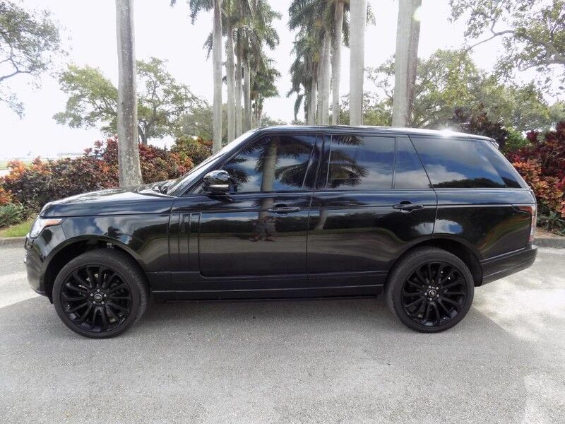 2014 Land Rover Range Rover 5.0L V8 Supercharged Autobiography Hollywood FL