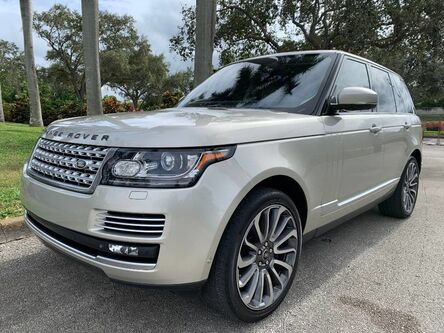 Land Rover Range Rover 5.0L V8 Supercharged Autobiography 2014
