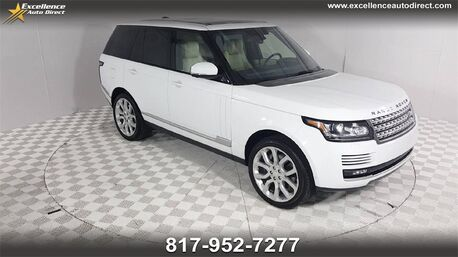 2014_Land Rover_Range Rover_5.0L V8 Supercharged CLIMATE PKG/MERIDIAN/NAV/CAM/SUN/CRUISE_ Euless TX