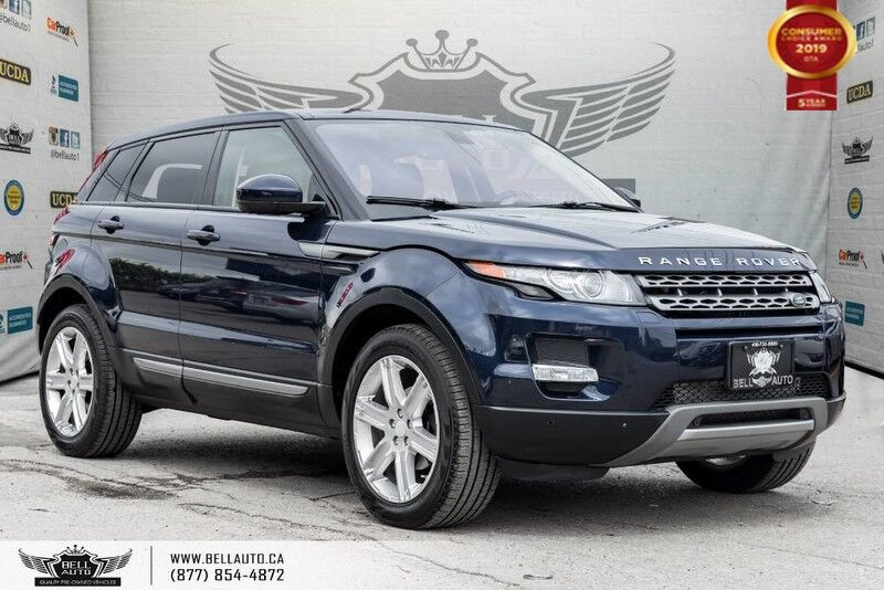 2014 Land Rover Range Rover Evoque Pure Plus, NAVI, BACK-UP CAM, PANOROOF