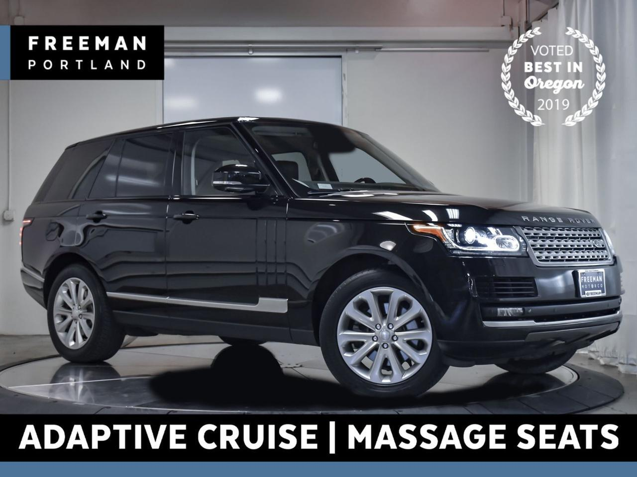 2014 Land Rover Range Rover HSE 4WD Adaptive Cruise Vented Massage Seats Portland OR