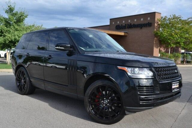 2014 Land Rover Range Rover HSE/$91,990 MSRP/4X4/22'' Black Wheels/Meridian Sound/Panoramic Sunroof/Front Climate Comfort Pkg/Front Cooler Box/Nav/Rear View Cam/Heated&Cooled Seats/MUST SEE! Nashville TN