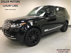 Land Rover Range Rover One Owner V8 Supercharged Clean Carfax Blind Spot Backup Camera 2014