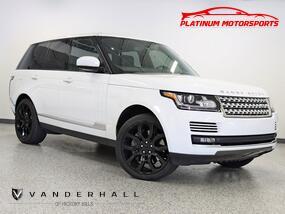 Land Rover Range Rover SC 1 Owner Pano Rear TV's Custom Interior Nav Back Up Camera Loaded 2014