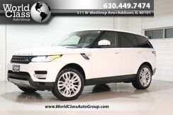 2014_Land Rover_Range Rover Sport - AWD PUSH BUTTON START AROUND CAR CAMERA SYSTEM NAVIGATION HEATED FRONT & REAR SEATS PANO ROOF BACKUP CAMERA PARKING SENSORS HEATED STEERING WHEEL PARALLEL PARKING ASSIST POWER LEATHER SEATS MERIDIAN AUDIO SYSTEM OFF ROAD SUSPENSIO_HSE_ Chicago IL