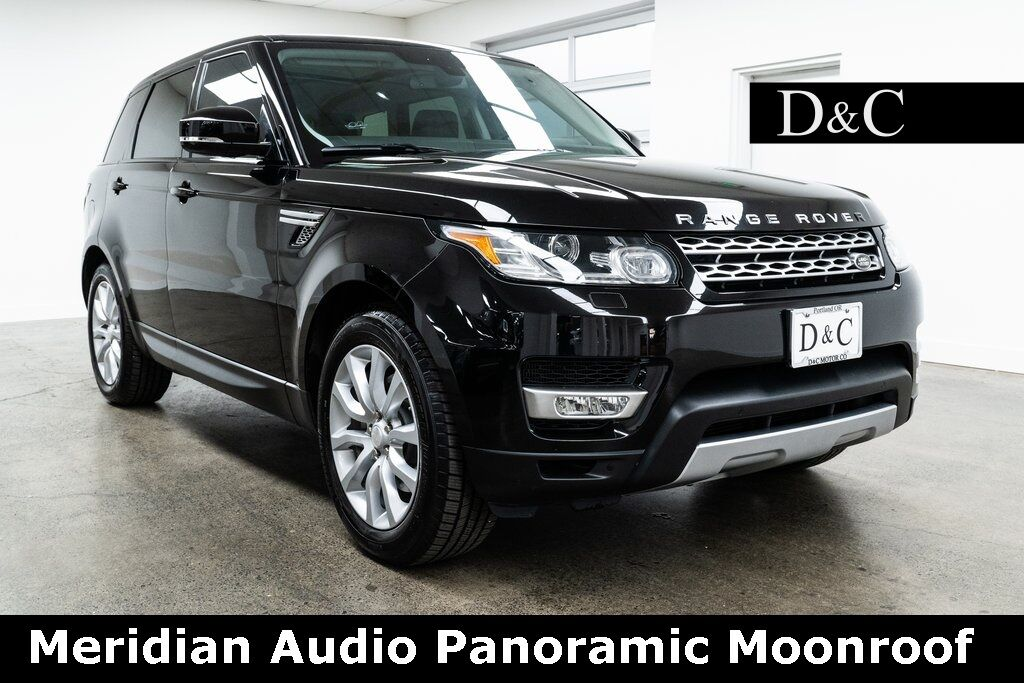 2014 Land Rover Range Rover Sport 3.0L V6 Supercharged HSE Meridian Audio Panoramic Moonroof Portland OR