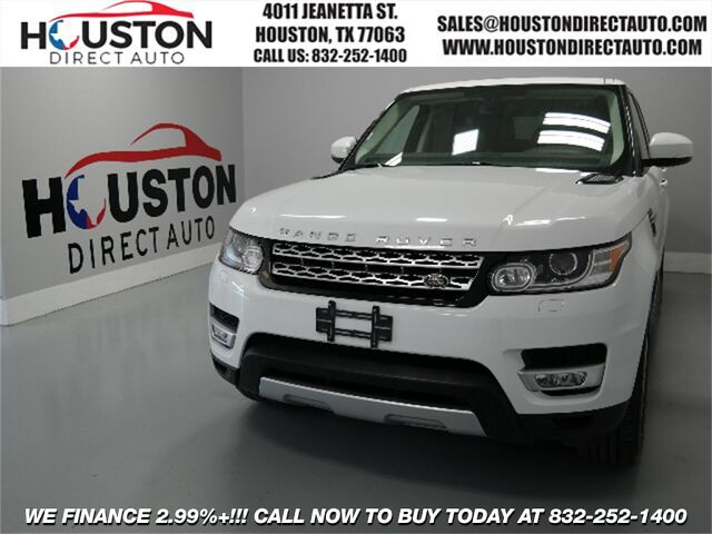 2014 Land Rover Range Rover Sport 3.0L V6 Supercharged HSE Houston TX