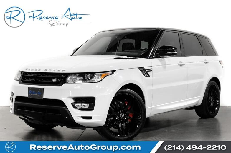 2014 Land Rover Range Rover Sport Autobiography Meridian Audio Climate Pkg AC Seats The Colony TX