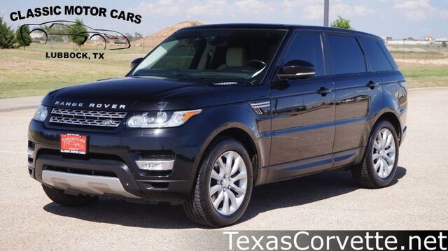 2014 Land Rover Range Rover Sport HSE Lubbock TX