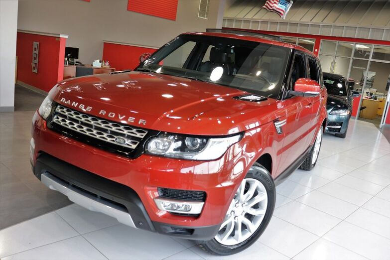 2014 Land Rover Range Rover Sport HSE Sport Vision And Convenience Front Climate & Visibility Package Panoramic Roof Premium Paint 20 Inch Wheels Navigation Springfield NJ