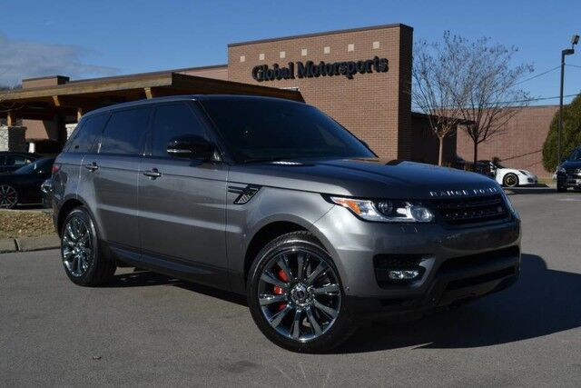 2014 Land Rover Range Rover Sport V8 Supercharged/Dynamic Pkg/Adaptive Cruise/Vision&Convenience Pkg/Meridian Sound/Climate Comfort&Visibility&Tow Pkg! Nashville TN