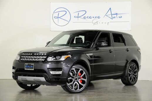 2014 Land Rover Range Rover Sport V8 Supercharged Rover Certified Warranty The Colony TX