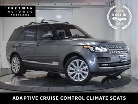 2014 Land Rover Range Rover Supercharged 4X4 Adaptive Cruise Blind Spot Assist