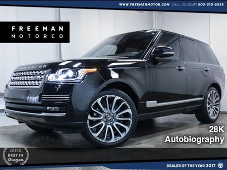 2014_Land Rover_Range Rover_Supercharged Autobiography 28K_ Portland OR