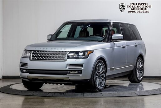 2014 Land Rover Range Rover Supercharged Autobiography 4 Place Seater MSRP $140,971 Costa Mesa CA