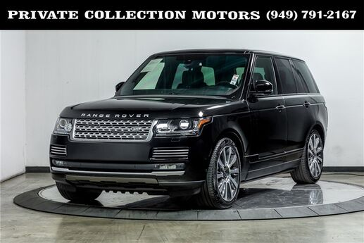 2014 Land Rover Range Rover Supercharged Autobiography Costa Mesa CA