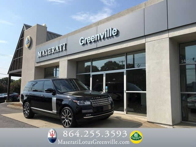 2014 Land Rover Range Rover Supercharged Autobiography Greenville SC