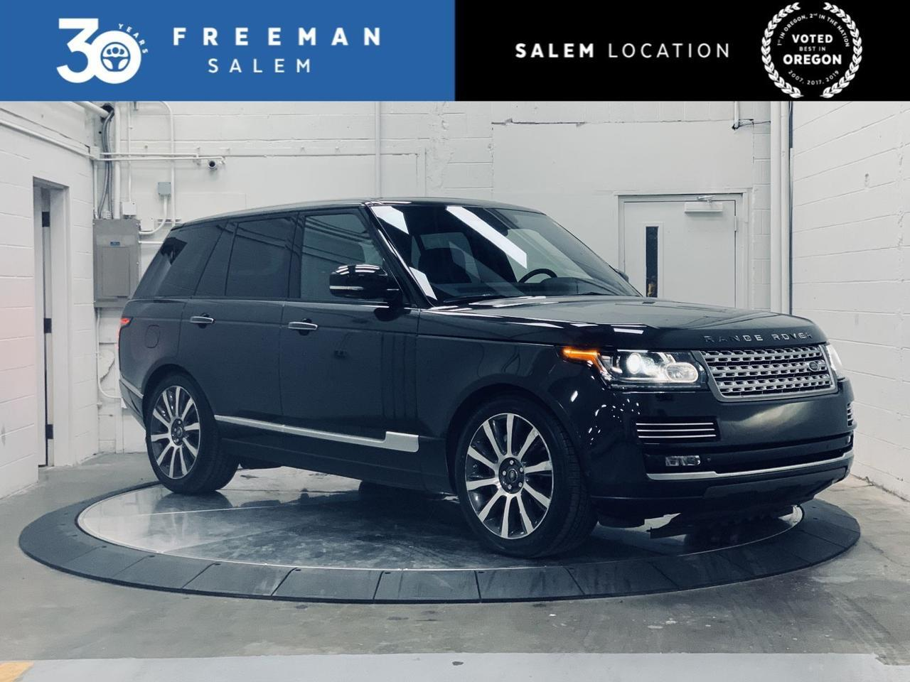 2014 Land Rover Range Rover Supercharged Autobiography Package