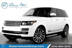 2014 Land Rover Range Rover Supercharged Autobiography Power Boards