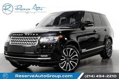 2014 Land Rover Range Rover Supercharged Autobiography Whls Vision Assist Pkg