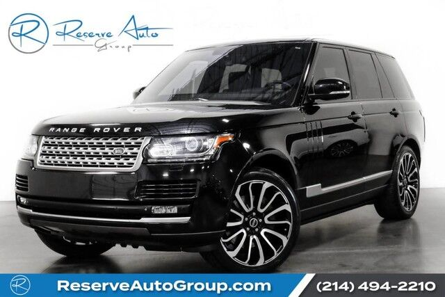 2014 Land Rover Range Rover Supercharged Autobiography Whls Vision Assist Pkg The Colony TX