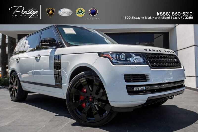 2014_Land Rover_Range Rover_Supercharged Autobiography_ North Miami Beach FL