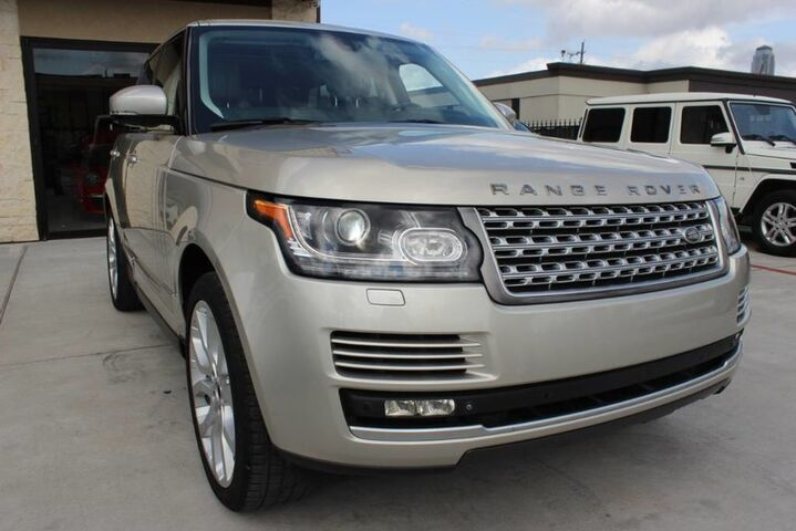 2014 Land Rover Range Rover Supercharged-Clean CarFax Texas Born!!! Houston TX