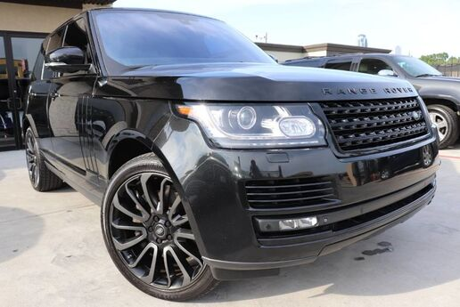 2014 Land Rover Range Rover Supercharged Ebony Edition CLEAN CARFAX $119,530 MSRP Houston TX