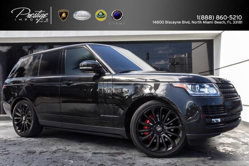 2014_Land Rover_Range Rover_Supercharged Ebony Edition_ North Miami Beach FL