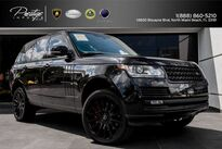 Land Rover Range Rover Supercharged Ebony Edition 2014